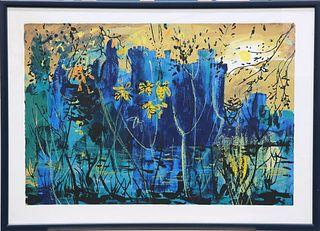 JOHN PIPER (BRITISH, 1903-1992), EASTNOR CASTLE, silkscreen