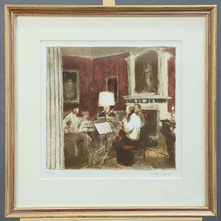 BERNARD DUNSTAN (1920-2017), THE GABRIELI QUARTET AT STOURH