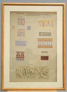 ILLUSTRATIONS OF THE ORNAMENTATION OF CONTINUOUS BORDERING,