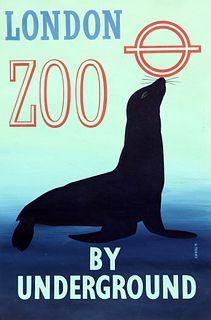 RONALD (RON) MCNEILL (1932-2020), LONDON ZOO BY UNDERGROUND