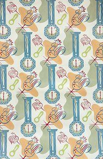 RONALD (RON) MCNEILL (1932-2020), DESIGN FOR WALLPAPER, uns