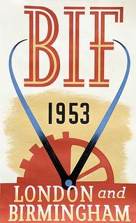 RONALD (RON) MCNEILL (1932-2020), BIF 1953 LONDON AND BIRMI