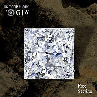 1.52 ct, G/VS2, Princess cut Diamond. Unmounted. Appraised Value: $19,200
