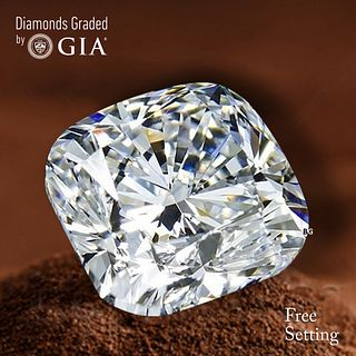 2.01 ct, G/VS2, Cushion cut Diamond. Unmounted. Appraised Value: $42,200