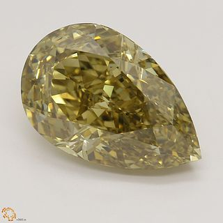 5.03 ct, Natural Fancy Dark Brown-Yellow Even Color, SI1, Oval cut Diamond (GIA Graded), Unmounted, Appraised Value: $64,600
