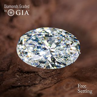 4.09 ct, H/IF, Oval cut Diamond. Unmounted. Appraised Value: $200,400