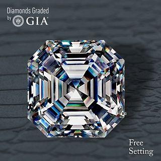 4.03 ct, F/VS1, Sq. Emerald cut Diamond. Unmounted. Appraised Value: $253,800