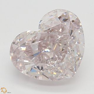 1.58 ct, Natural Fancy Light Purplish Pink Even Color, SI1, Cushion cut Diamond (GIA Graded), Unmounted, Appraised Value: $306,500
