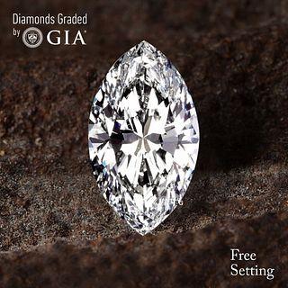 3.03 ct, D/FL, TYPE IIA Marquise cut Diamond. Unmounted. Appraised Value: $296,500