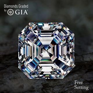 4.01 ct, G/VS1, Sq. Emerald cut Diamond. Unmounted. Appraised Value: $189,400