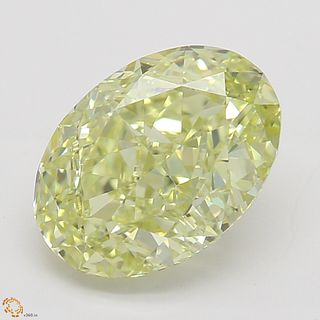 1.52 ct, Natural Fancy Yellow Even Color, IF, Cushion cut Diamond (GIA Graded), Unmounted, Appraised Value: $23,400