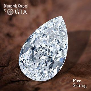 1.01 ct, D/VVS1, Pear cut Diamond. Unmounted. Appraised Value: $17,900
