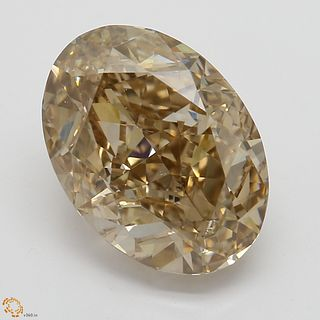 3.22 ct, Natural Fancy Orange-Brown Even Color, SI1, Pear cut Diamond (GIA Graded), Unmounted, Appraised Value: $31,800