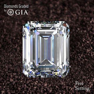 1.60 ct, D/FL, Emerald cut Diamond. Unmounted. Appraised Value: $43,400