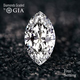 4.02 ct, D/VS2, Marquise cut Diamond. Unmounted. Appraised Value: $269,300