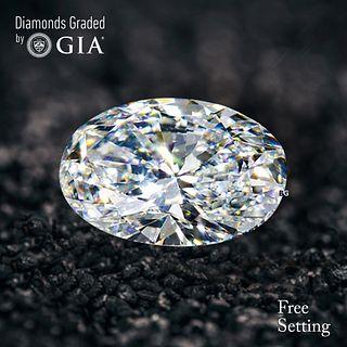 2.01 ct, E/VS2, Oval cut Diamond. Unmounted. Appraised Value: $49,200