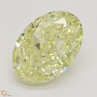 3.01 ct, Natural Fancy Yellow Even Color, SI1, Heart cut Diamond (GIA Graded), Unmounted, Appraised Value: $59,800