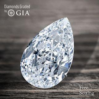 2.01 ct, D/VVS2, Pear cut Diamond. Unmounted. Appraised Value: $65,000