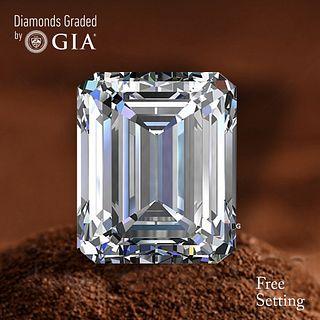 1.01 ct, E/VS1, Emerald cut Diamond. Unmounted. Appraised Value: $10,700