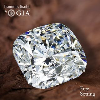 2.02 ct, E/VVS2, Cushion Bri. cut Diamond. Unmounted. Appraised Value: $58,300