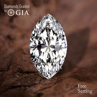 4.20 ct, D/IF, TYPE IIA Marquise cut Diamond. Unmounted. Appraised Value: $546,000