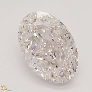 1.57 ct, Natural Faint Pink Color, IF, TYPE IIA Cushion cut Diamond (GIA Graded), Unmounted, Appraised Value: $77,800