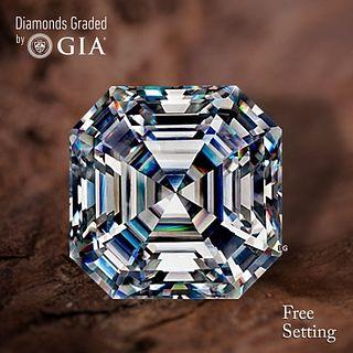 4.01 ct, I/VVS1, Sq. Emerald cut Diamond. Unmounted. Appraised Value: $133,300