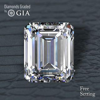 3.01 ct, F/VS2, Emerald cut Diamond. Unmounted. Appraised Value: $102,700