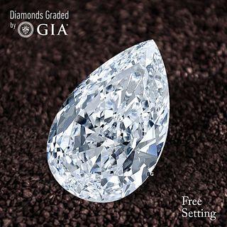 2.01 ct, D/VS1, Pear cut Diamond. Unmounted. Appraised Value: $58,000