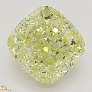 2.53 ct, Natural Fancy Yellow Even Color, SI1, Heart cut Diamond (GIA Graded), Unmounted, Appraised Value: $35,700