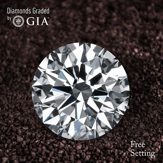 2.13 ct, D/VVS2, Round cut Diamond. Unmounted. Appraised Value: $95,000