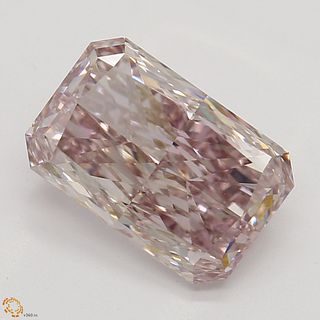 1.51 ct, Natural Fancy Brownish Pink Even Color, VS2, Cushion cut Diamond (GIA Graded), Unmounted, Appraised Value: $185,700