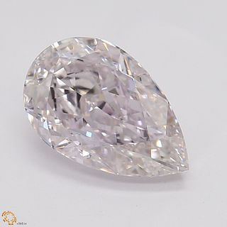 1.11 ct, Natural Light Pink Color, VVS1, Cushion cut Diamond (GIA Graded), Unmounted, Appraised Value: $115,800