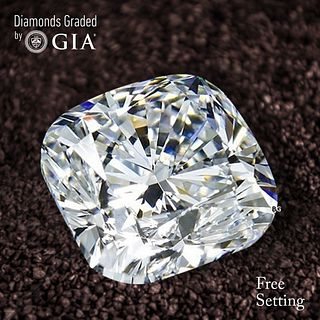2.01 ct, D/VS2, Cushion cut Diamond. Unmounted. Appraised Value: $52,700