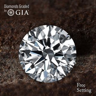 2.40 ct, D/VS1, Round cut Diamond. Unmounted. Appraised Value: $92,400