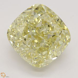 8.11 ct, Natural Fancy Light Brownish Yellow Even Color, VS1, Oval cut Diamond (GIA Graded), Unmounted, Appraised Value: $163,700