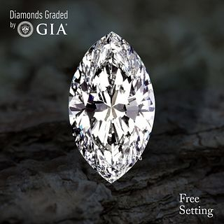 4.01 ct, G/IF, Marquise cut Diamond. Unmounted. Appraised Value: $272,600