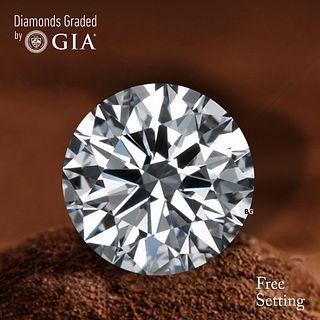 3.18 ct, F/VVS1, Round cut Diamond. Unmounted. Appraised Value: $235,300