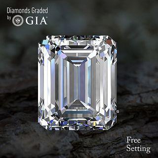 3.51 ct, E/VVS2, Emerald cut Diamond. Unmounted. Appraised Value: $162,700