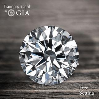3.01 ct, D/VS1, Round cut Diamond. Unmounted. Appraised Value: $216,700