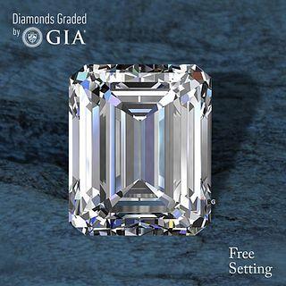 4.50 ct, D/VS1, Emerald cut Diamond. Unmounted. Appraised Value: $333,000