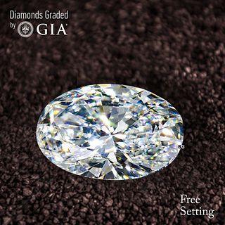 1.01 ct, D/IF, TYPE IIA Oval cut Diamond. Unmounted. Appraised Value: $22,100