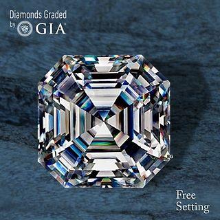 7.06 ct, G/VS1, Sq. Emerald cut Diamond. Unmounted. Appraised Value: $515,300