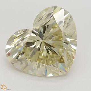 5.01 ct, Natural Fancy Light Brownish Yellow Even Color, VS1, Pear cut Diamond (GIA Graded), Unmounted, Appraised Value: $87,100