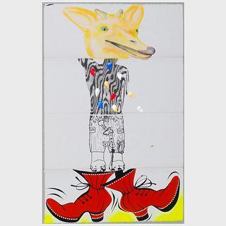 Alexis Rockman (b. 1962), Millie Wilson (b. 1958), Benjamin Weissman and Lari Pittman (b. 1952): Untitled