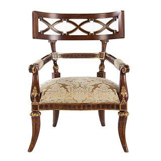 Century Furniture Regency Style Arm Chair