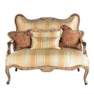 Century Furniture Louis XV Style Settee