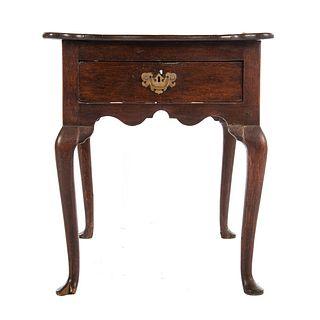 George III Oak Dressing Table