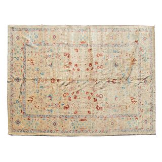 Peshawar Agra Carpet, Pakistan, 9.8 x 13.8
