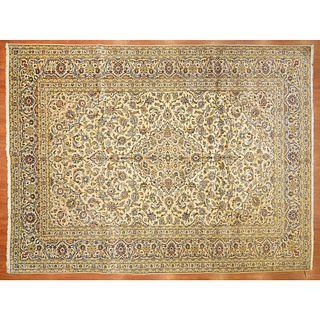 Kashan Carpet, Persia, 9.8 x 12.9